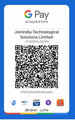 JoinIndia Google Pay